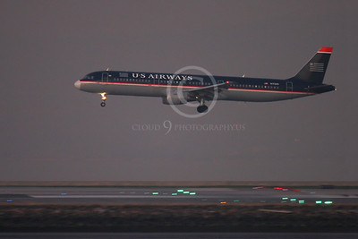 ALPN 00106 AIRBUS A321 US AIRWAYS N172US by Peter J Mancus