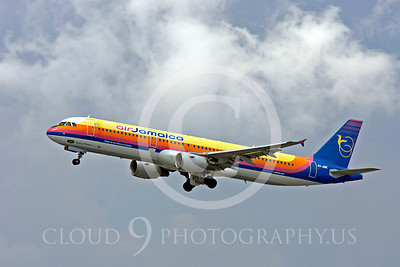 A321 00048 Airbus A321 Air Jamaica 6Y- JME by Peter J Mancus
