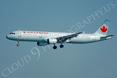 A321 00024 Airbus A321 Air Canada C-GIUE by Peter J Mancus