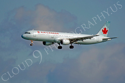 A321 00004 Airbus A321 Air Canada C-GIUE by Peter J Mancus