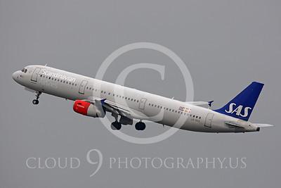 A321 00010 Airbus A321 Scandinavian Airlines LN-RKK by Peter J Mancus
