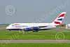 A380 00177 A taxing British Airways Airbus A380 F-WWSK super jumble jet airliner 2013 Paris Air Show airliner picture by Stephen W D Wolf