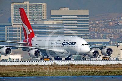 A380 00045 Airbus A380 Qantas by Peter J Mancus