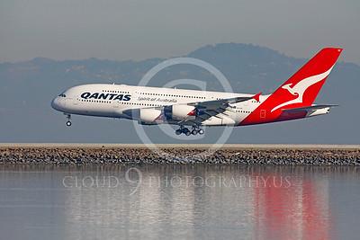 A380 00058 Airbus A380 Qantas VH-OQC by Peter J Mancus
