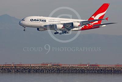 A380 00062 Airbus A380 Qantas VH-OQC by Peter J Mancus
