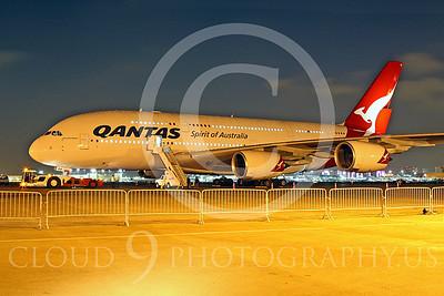 A380 00009 Airbus A380 Qantas by Tim Wagenknecht