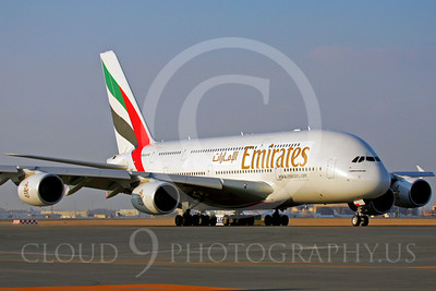 A380 00003 Airbus A380 Emirates by Paul Ridgway