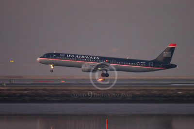 ALPN 00048 AIRBUS A321 US AIRWAYS N172US by Peter J Mancus