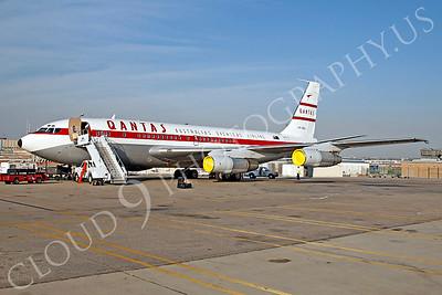ALPR 00011 Boeing 707 Qantas VH-XBA by Tim P Wagenknecht