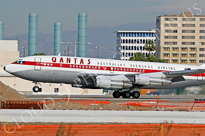ALPR 00008 Boeing 707 Qantas VH-XBA by Tim P Wagenknecht