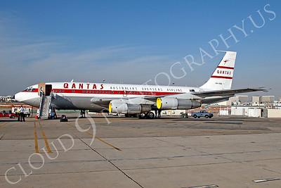 ALPR 00009 Boeing 707 Qantas VH-XBA by Tim P Wagenknecht