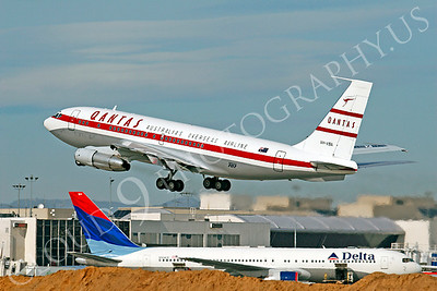 ALPR 00010 Boeing 707 Qantas VH-XBA by Tim P Wagenknecht