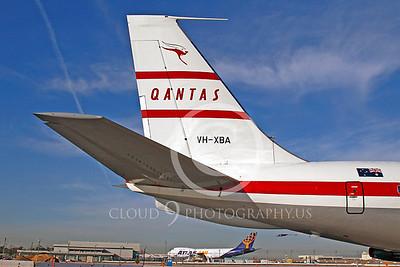 ALPR 00013 Boeing 707 Qantas VH-XBA by Tim P Wagenknecht