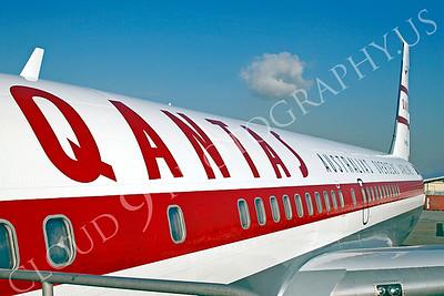 ALPR 00003 Boeing 707 Qantas by Tim P Wagenknecht
