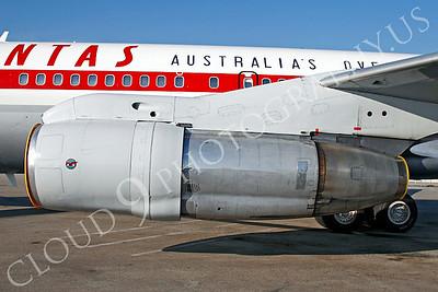 ALPR 00005 Boeing 707 Qantas by Tim P Wagenknecht