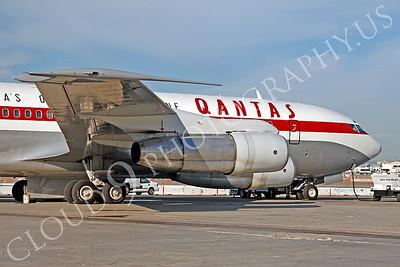 ALPR 00015 Boeing 707 Qantas VH-XBA by Tim P Wagenknecht