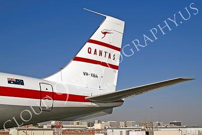 ALPR 00007 Boeing 707 Qantas VH-XBA by Tim P Wagenknecht