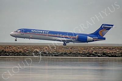 B717 00001 Boeing 717 Midwest N910ME by Peter J Mancus