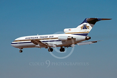 B727 00016 Boeing 727 American Trans Air N289AT November 1989 by Peter J Mancus