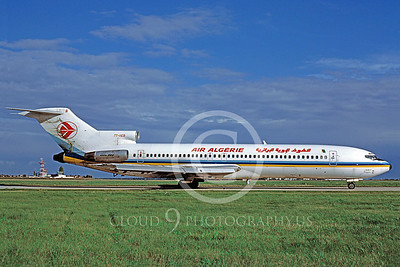 B727 00003 Boeing 727 Air Algerie 7T-VEB October 1987 via African Aviation Slide Service