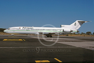 B727 00005 Boeing 727 African Express 5Y-AXB March 2000 via African Aviation Slide Service