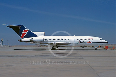 B727 00023 Boeing 727 Inter Air ZS-IJE September 1996 via African Aviation Slide Service