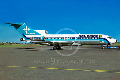 B727 00017 Boeing 727 Cruzeiro PP-CI via African Aviation Slide Service
