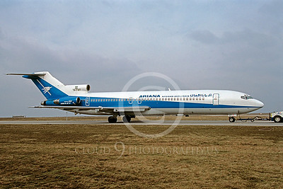 B727 00021 Boeing 727 Ariana YA-FAY March 1998 by Peter J Mancus