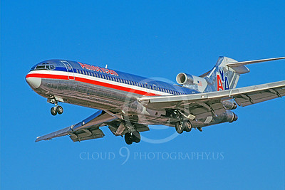 B727 00008 Boeing 727 American January 1999 by Peter J Mancus