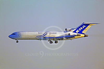 B727-C 00004 Boeing 727 Kitty Hawk Air Cargo N279US by Peter J Mancus