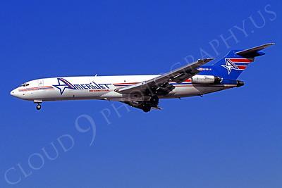 B727-C 00002 Boeing 727 American Jet International N296AJ March 1999 by Peter J Mancus