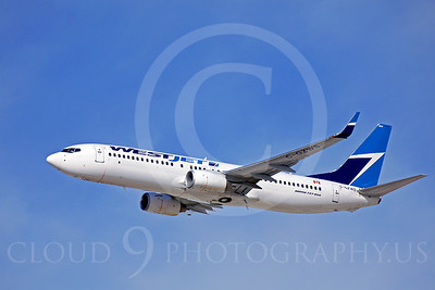 B737 00032 Boeing 737-800 West Jet C-GZWS by Peter J Mancus