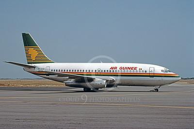 B737 00033 Boeing 737 Air Guinee 3X-GCB March 1999 via African Aviation Slide Service