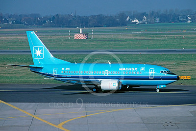 B737 00025 Boeing 737 Maersk Airline OY-APH by Peter J Mancus