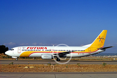 B737 00017 Boeing 737 Futura EC-FBP August 1994 via African Aviation Slide Service