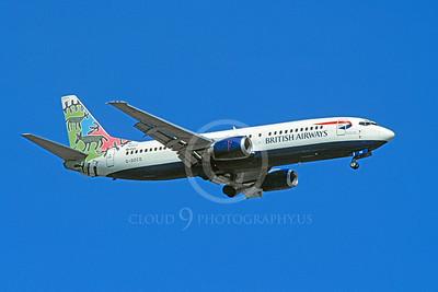 B737 00034 Boeing 737 British Airways G-DOCD 7 April 2003 by Stwephen W D Wolf