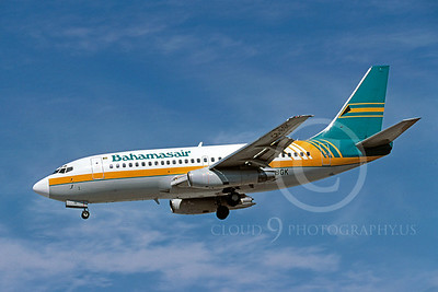 B737 00026 Boeing 737 Bahamas Air March 1999 by Peter J Mancus