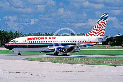 B737 00027 Boeing 737 Nations Air September 1999 by Peter J Mancus