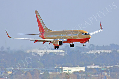 B737 00360 Boeing 737 Southwest Airline by Peter J Mancus