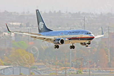 B737 00370 Boeing 737 Aero Mexico by Peter J Mancus