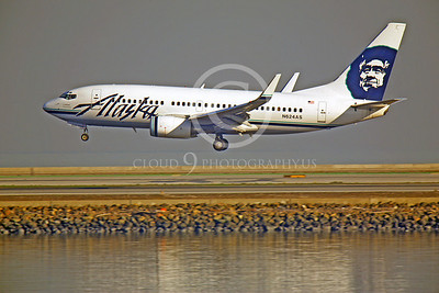 B737 00038 Boeing 737 Alaska Airline N624AS by Peter J Mancus