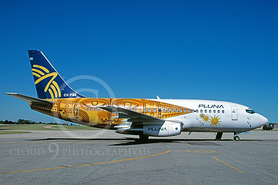 B737 00023 Boeing 737 Pluna Airline CX-FAT December 1996 by Michel Saint-Felix