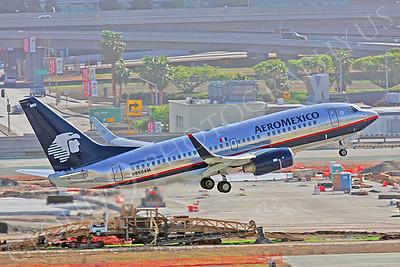 B737 00362 Boeing 737 Aero Mexico N850AM by Peter J Mancus