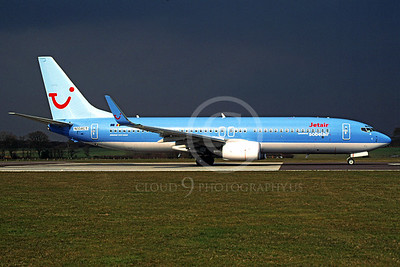 B737 00019 Boeing 737-800 Jet Air Airline N334CT March 2004 via African Aviation Slide Service