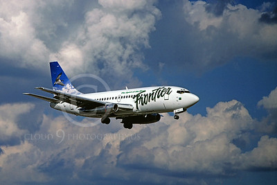 B737 00016 Boeing 737 Frontier July 1996 by Peter J Mancus