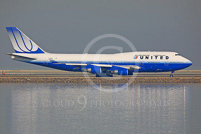 B747 00029 Boeing 747 United Airline N118UA by Peter J Mancus