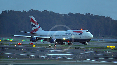 ALPN 00088 Boeing 747 British Airways by Peter J Mancus