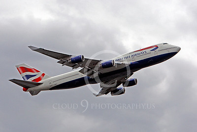 B747 00116 Boeing 747 British Airways G-BNLA by Peter J Mancus
