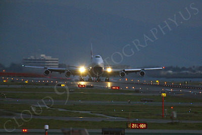 ALPN 00100 Boeing 747 British Airways by Peter J Mancus