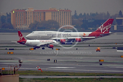 B747 00103 Boeing 747 Virgin Atlantic by Peter J Mancus